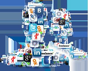 Контакты в социальных сетях