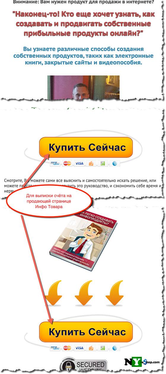 Оплата с помощью ИнтерКассы